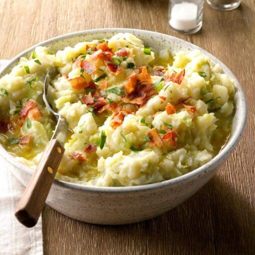 Colcannon-Potatoes